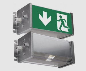 emergency and exit lights for tunnels